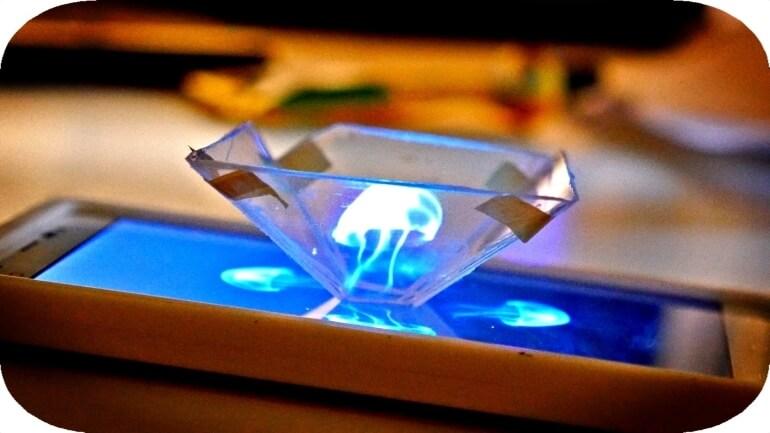 Zmień swojego SmartPhona w 3d hologram!