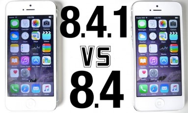 iOS 8.4.1 vs iOS 8.4 - iPhone 4s, iPhone 5