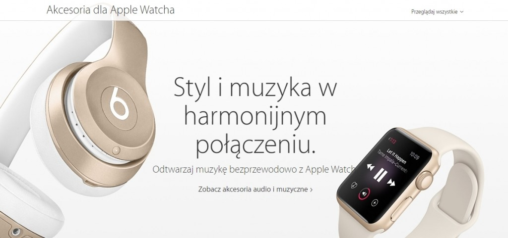 Apple watch akcesoria