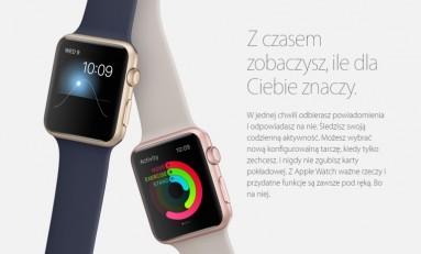 Apple Watch dostępny wkrótce w Polsce !