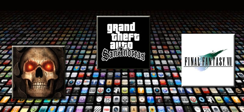 Najlepsze porty retro gier dla iOS – Final Fantasy, GTA, Baldur's Gate