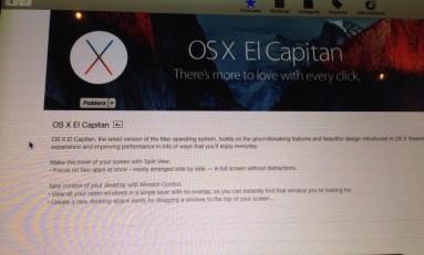 Finalna wersja OS X El Capitan !