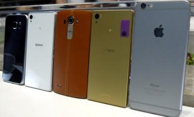 Xperia Z5 vs Xperia Z3 vs iPhone 6 Plus vs Galaxy S6 vs LG G4 porównanie zdjęć.
