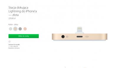 Stacja dokująca do iPhone'a 6S i nie tylko już w sprzedaży.