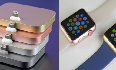 Nowe kolory Apple Watch oraz Apple Dock