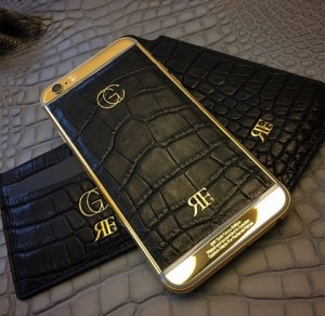 gold iphone 6 Falcao