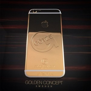 gold iphone 6 Mario Götze