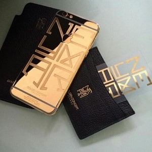 gold iphone 6 Neymar 1