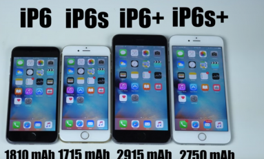 Test baterii! iPhone 6 vs iPhone 6s vs iPhone Plus 6 vs iPhone 6S Plus