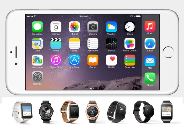 Android Wear na iOS!