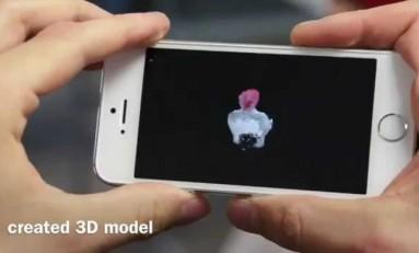 MobileFusion - skanowanie 3d w smartphonie