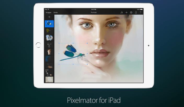 Pixelmator z obsługą zdjęć 8k i wsparciem iOS 9.