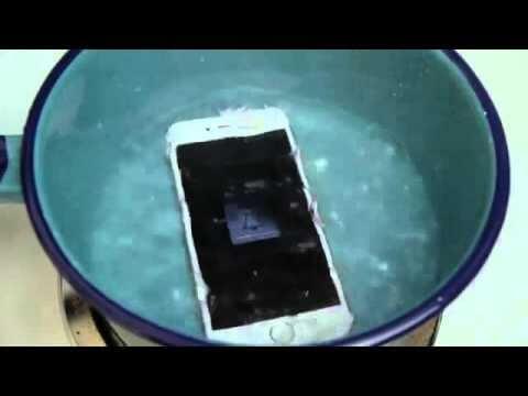 Co się stanie gdy iPhone 6S wrzucimy do gotującej wody?