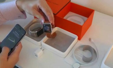 Unboxing Apple Watch Hermes