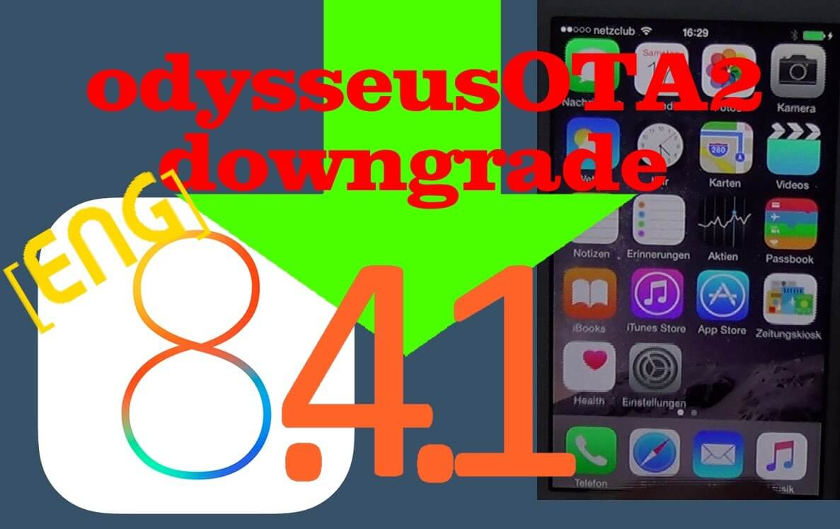 Downgrade iOS 8.4.1 na iPhonie 4s,5-iPadzie 2,3