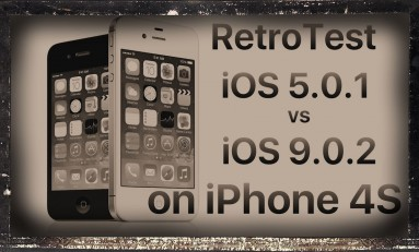Retro test : iOS 9.0.2 vs iOS 5.0.1 iPhone 4S