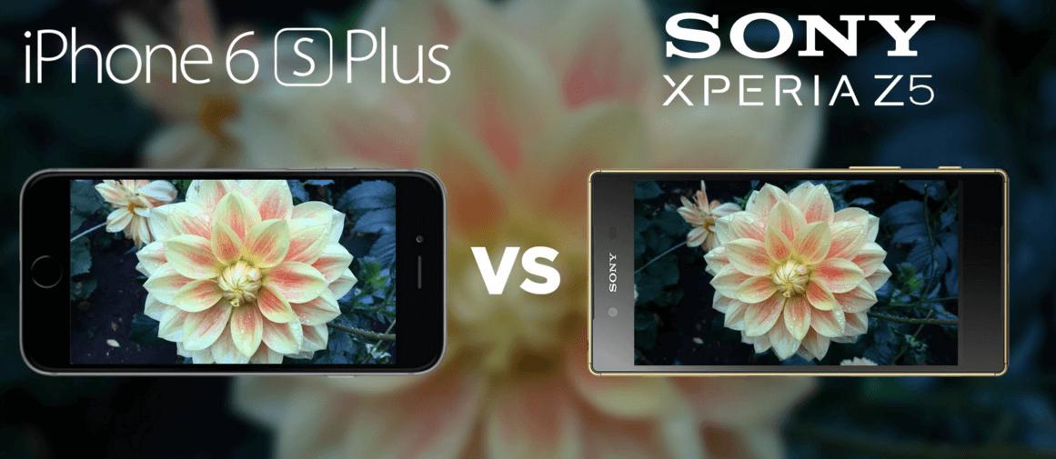 Test który lepszy: iPhone 6S Plus vs Sony Xperia Z5