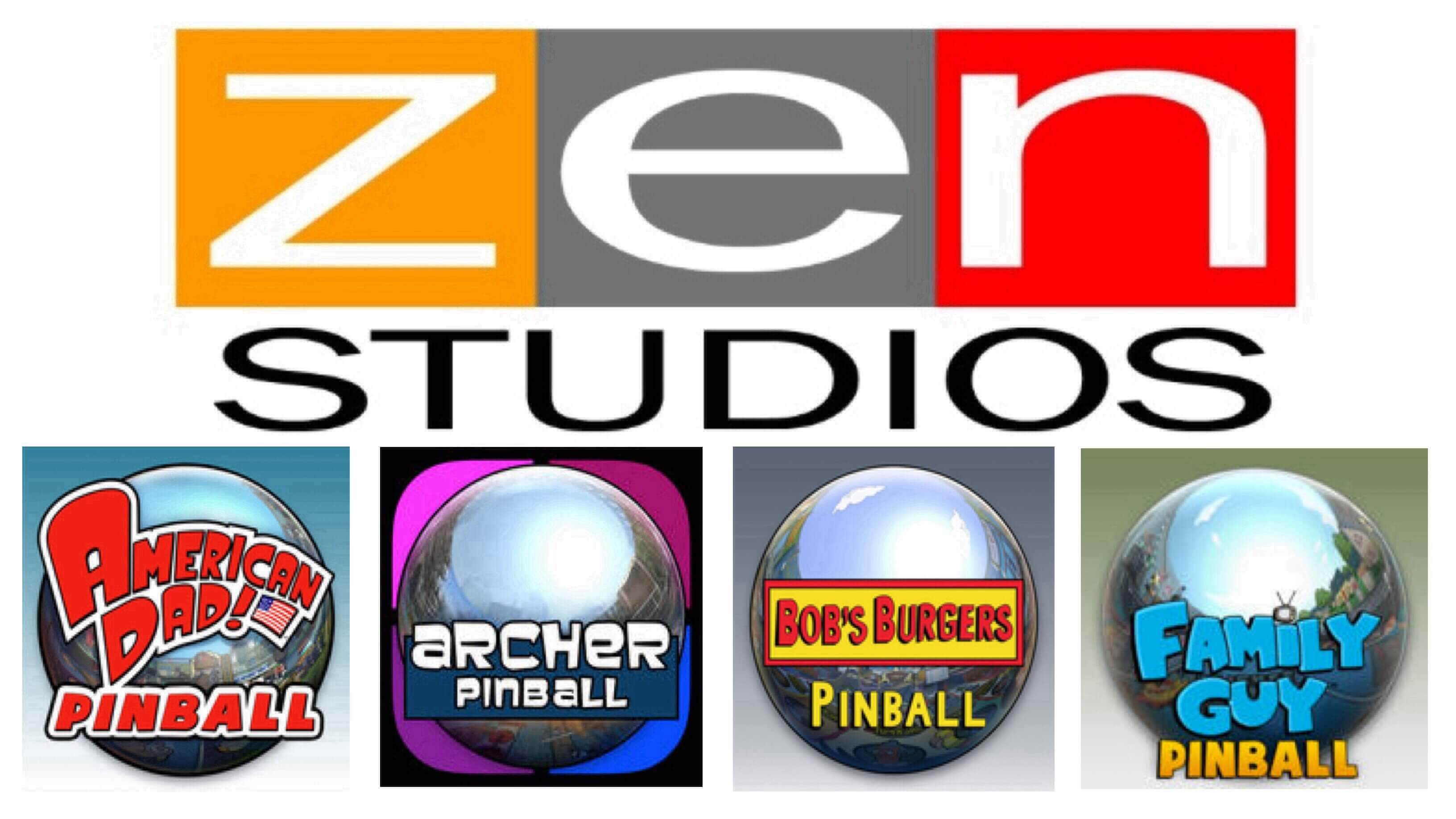 Cztery nowe flipery ZEN Studios Ltd.: American Dad!, Archer, Bob's Burgers oraz Family Guy