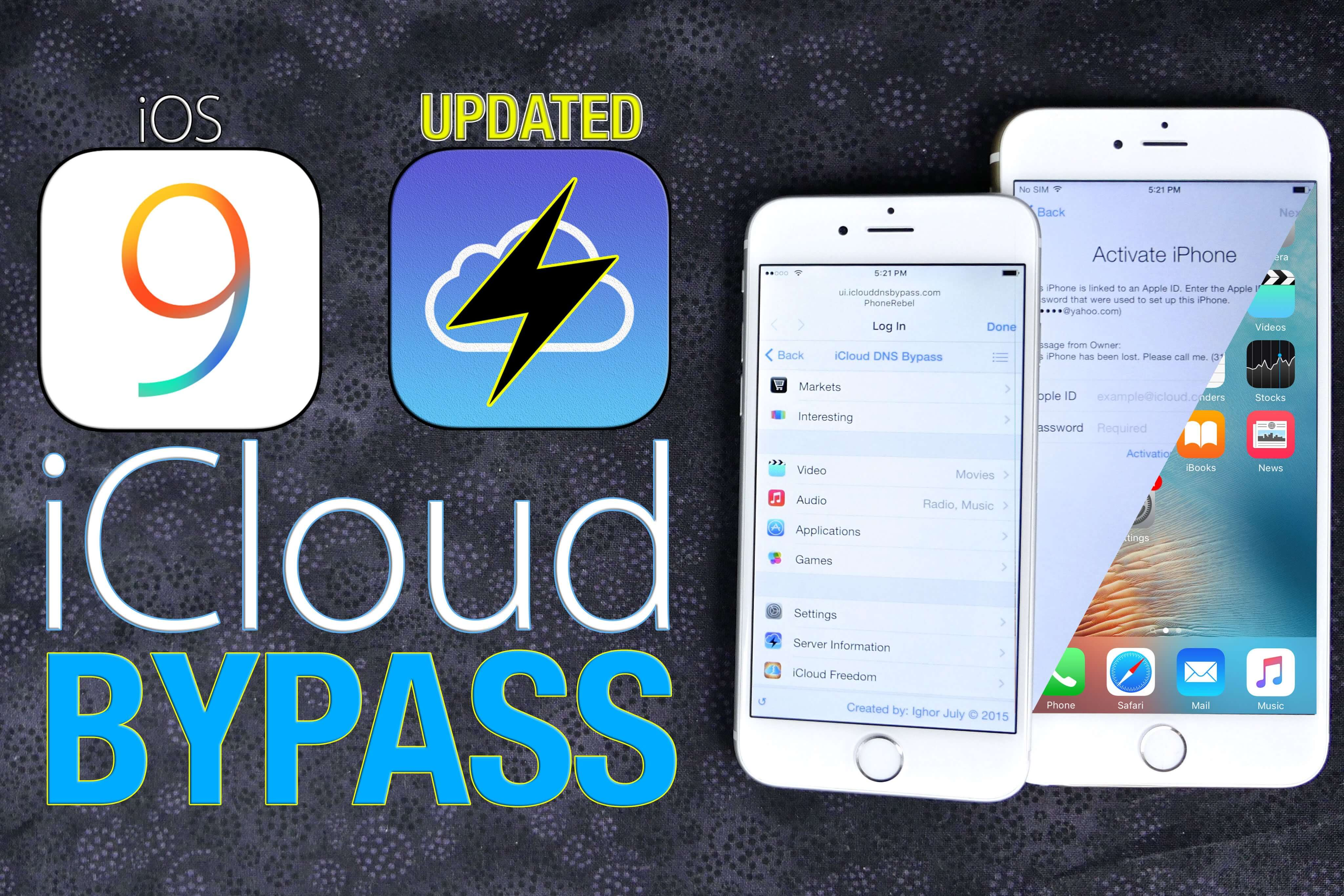 Jak ominąć blokadę iCloud iOS 9.1, 9.2, 9.0.2?