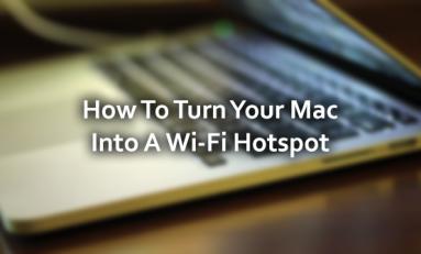 Mac, jako router WiFi? To możliwe. Zobacz, jak to zrobić.