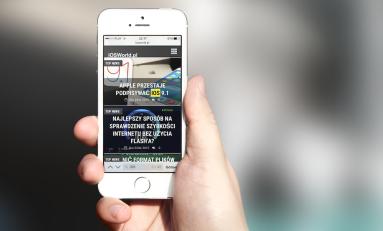 Poradnik - Wyszukiwanie słów na stronie w  przeglądarce na iOS.