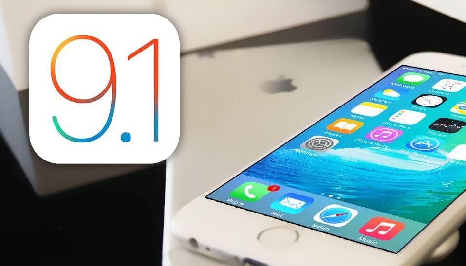 Apple przestaje podpisywać iOS 9.1