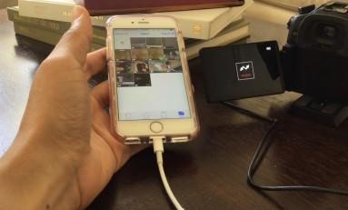 Poradnik - Jak przenieść zdjęcia z aparatu do iPhone'a.