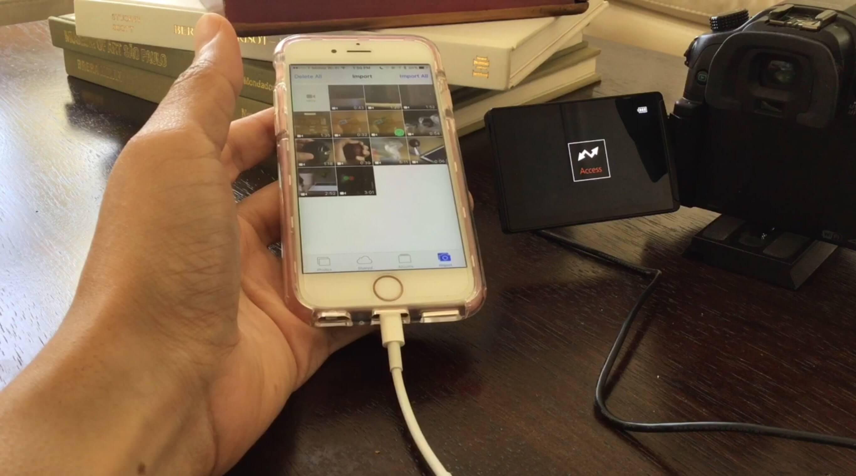 Poradnik – Jak przenieść zdjęcia z aparatu do iPhone'a.