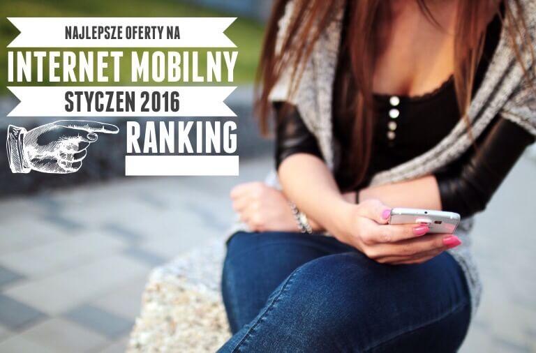 Najlepszy internet mobilny do 30 zł miesięcznie. Ranking styczeń 2016
