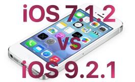 Test szybkości iPhone 4S iOS 9.2.1 vs iOS 7.1.2