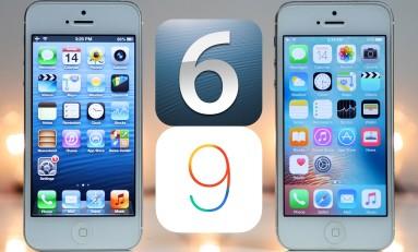 Test iPhone 5 iOS 6.0.1 vs iOS 9.2.1 który szybszy?