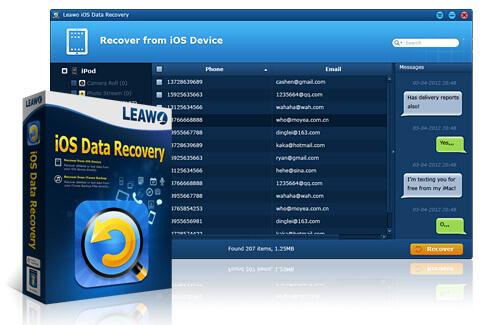 Odzyskiwanie danych z Leawo iOS Data Recovery w praktyce.