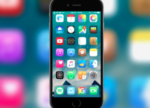 BlurryDock Tweak - efekt blur w dock'u również na iOS.