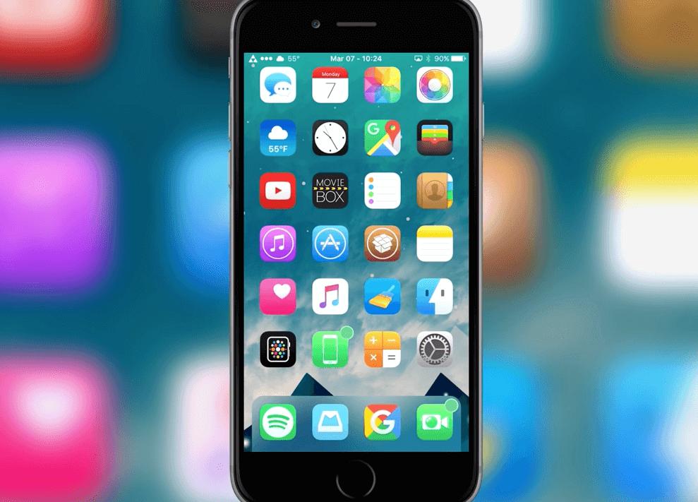 BlurryDock Tweak – efekt blur w dock'u również na iOS.