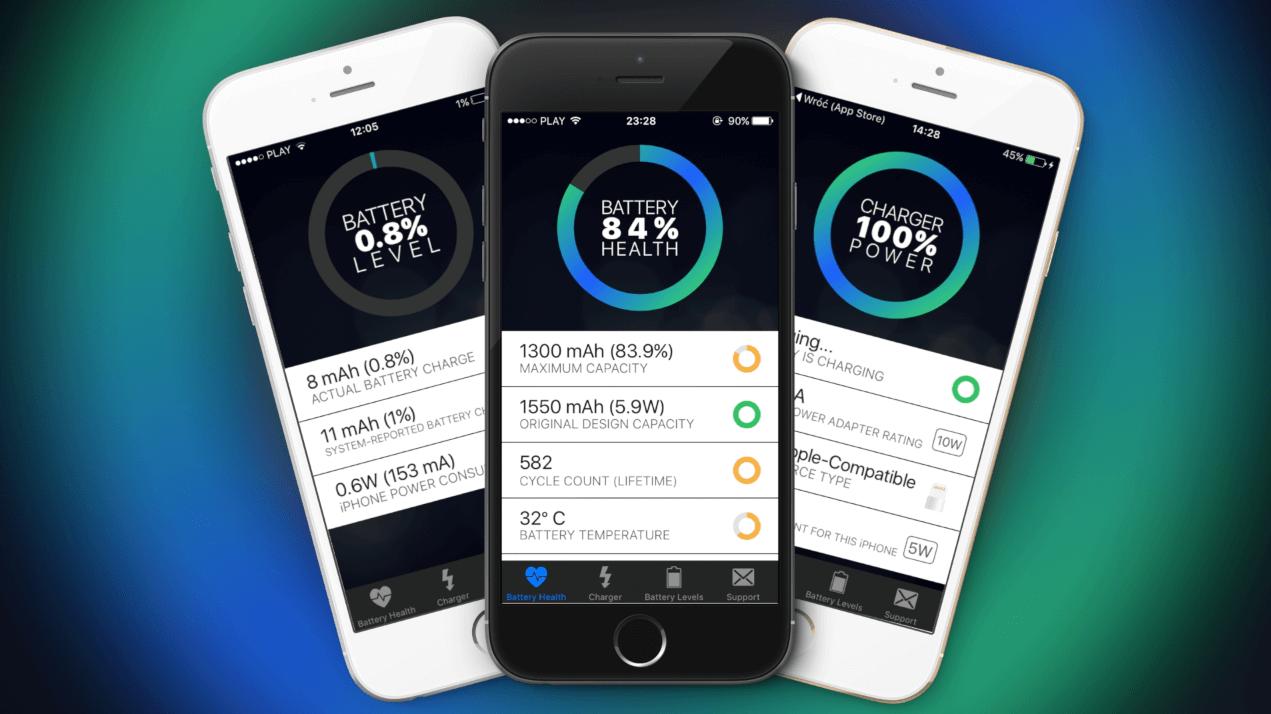 Battery Health – Jak sprawdzić ilość cykli baterii, temperaturę oraz zużycie baterii bez JailBreak'a?