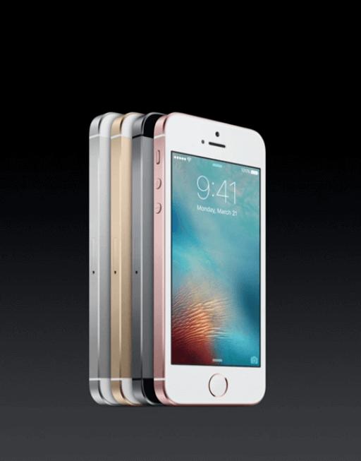 iPhone SE z bliska
