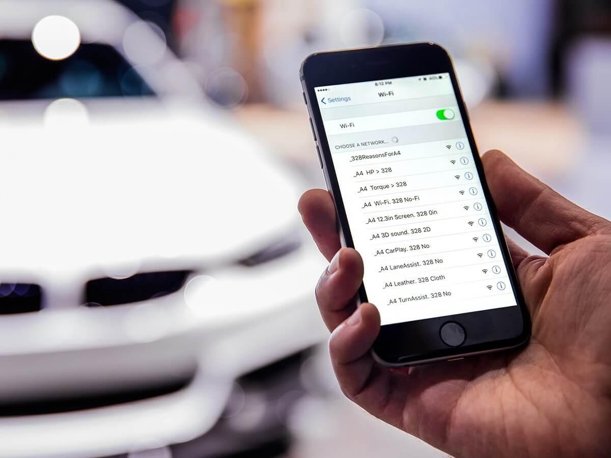 Audi trolluje pozostałe marki przy użyciu Wifi na targach auto show w Nowym Jorku
