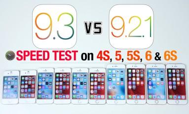 Czy warto aktualizować iOS 9.3 vs iOS 9.2.1 iPhone 6S, 6, 5S, 5, 4S