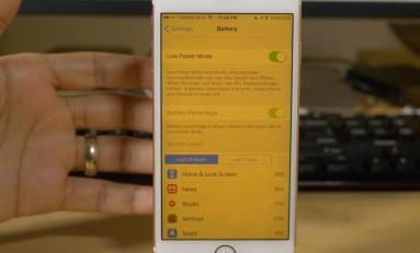 Tryb Night Shift w trybie oszczędzania energii? Czemu nie, Siri nam w tym pomoże.