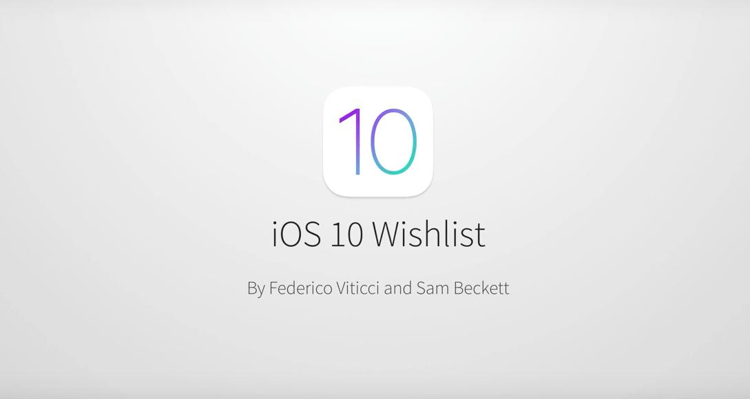 Niesamowity koncept dodatków do iOS 10 – taki system każdy by chciał!