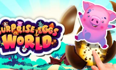 Surprise eggs world- idealna gra dla najmłodszych