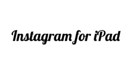 Instagram na iPada!