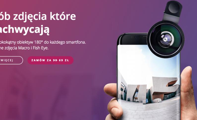 #Clippo - jeden szerokokątny obiektyw dla wszystkich twoich urządzeń.