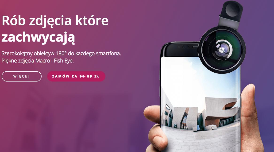 #Clippo – jeden szerokokątny obiektyw dla wszystkich twoich urządzeń.