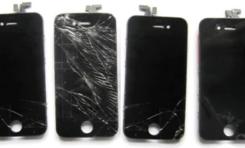 Wymiana wyświetlacza z szybką w iPhone